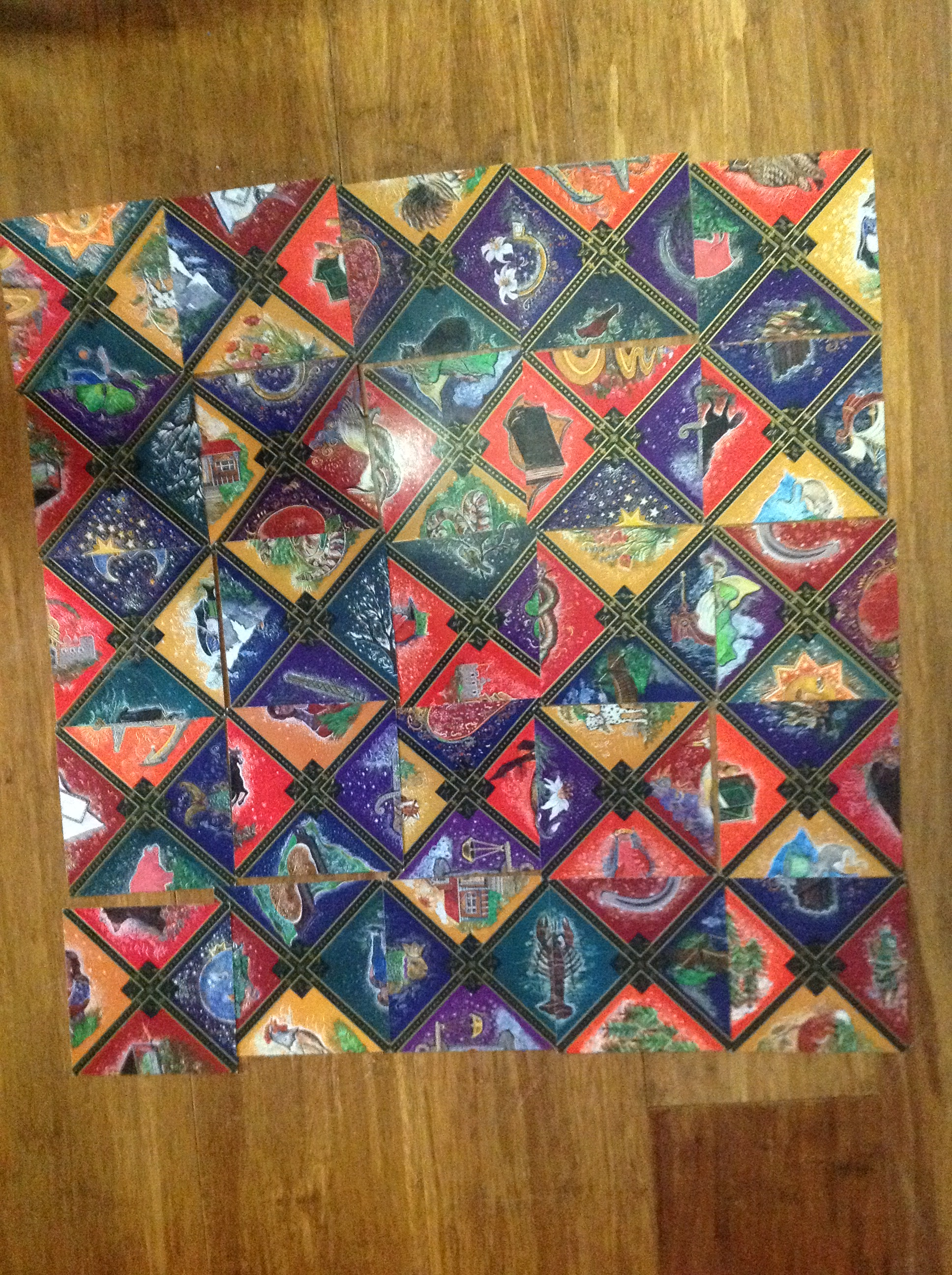 Russian Gypsy Fortune Telling Cards by Sveltana